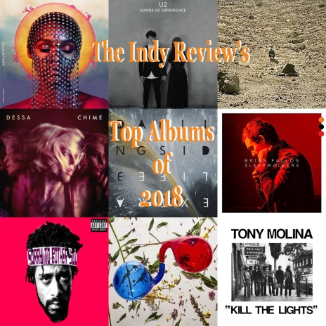 Indy Review Top Albums 2018 Art