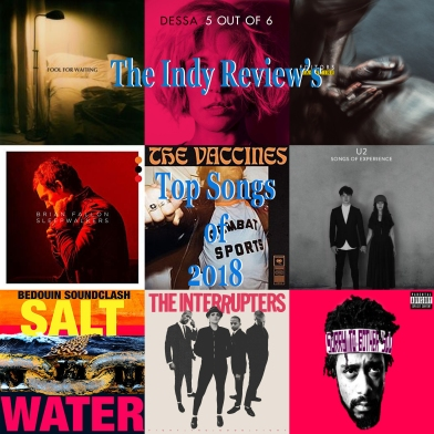 Indy Review Top Songs 2018 Art