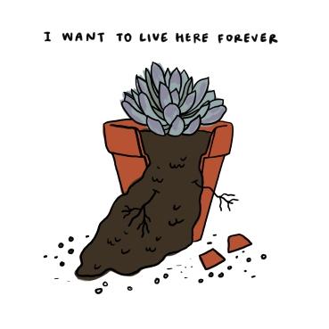Little Slugger flowerpot - Ben Chugg